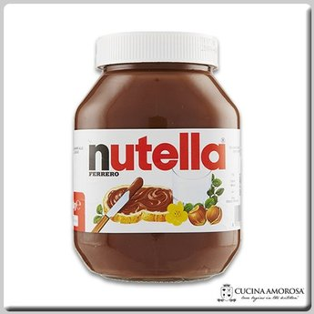 Ferrero Ferrero Nutella Made in Italy 33.5 Oz (950g) Glass