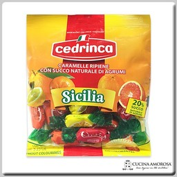 Cedrinca Cedrinca Sicilia Candies Lemon, Orange, Mandarine Flavors 5.29 Oz (150g)