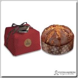 Fiasconaro Fiasconaro Sicilian Panettone Flavored with Marsala & Zibibbo Wines Handwrapped 26.45 Oz (750g)
