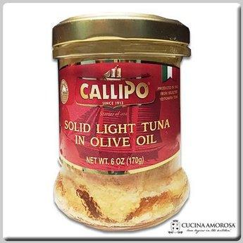 Callipo Callipo Solid Light Tuna in Olive Oil 7 Oz Jar (200g)