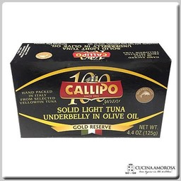 Callipo Callipo Ventresca Tuna Underbelly in Olive Oil 4.4 Oz (125g)