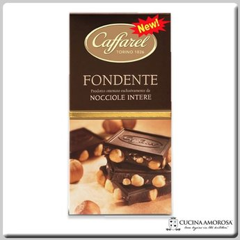 Caffarel Caffarel Dark Chocolate with Piedmont Hazelnut Bar  5.29 Oz (150g)