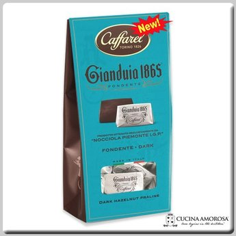 Caffarel Caffarel Dark Gianduia Fondente Window 5.29 Oz (150g)