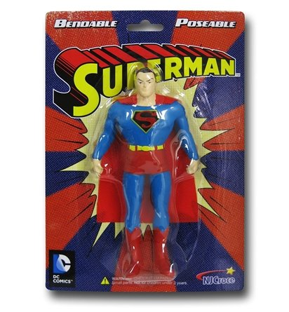 "Toysmith Superman 5.5"" Bendable"