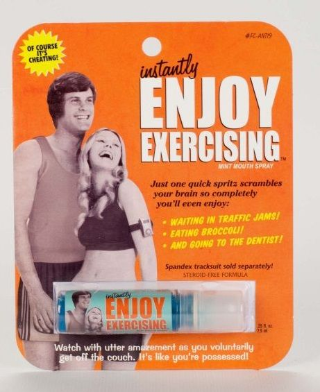 blue Q Breath Spray/ Enjoy Exercising