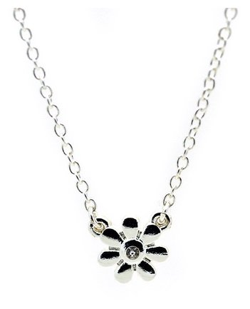 Lucky Feather Best Day Ever Necklace/ Flower Girl