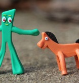 Super Impulse USA Worlds Smallest Gumby & Pokey