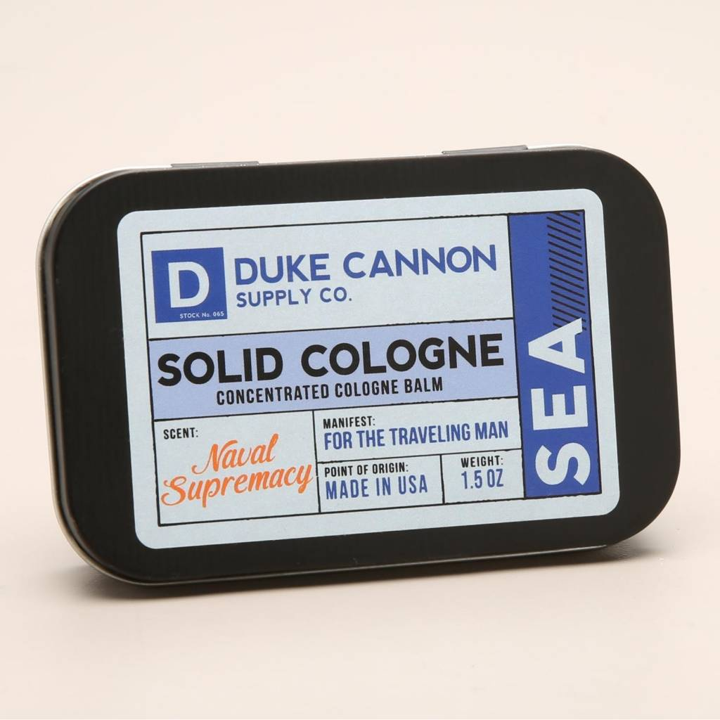 Duke Cannon Duke Cannon Solid Cologne/ Sea