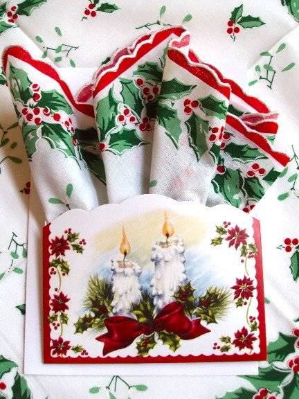 LuRay Collection Hankie / Luray Holiday Basket