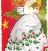 LuRay Collection Hankie Card/ Christmas Angel