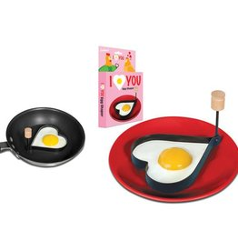 Accoutrements Egg Shaper/ I Love You