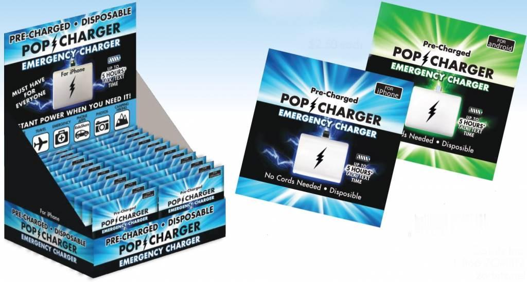 Zorbitz Pop Charger/ IPhone