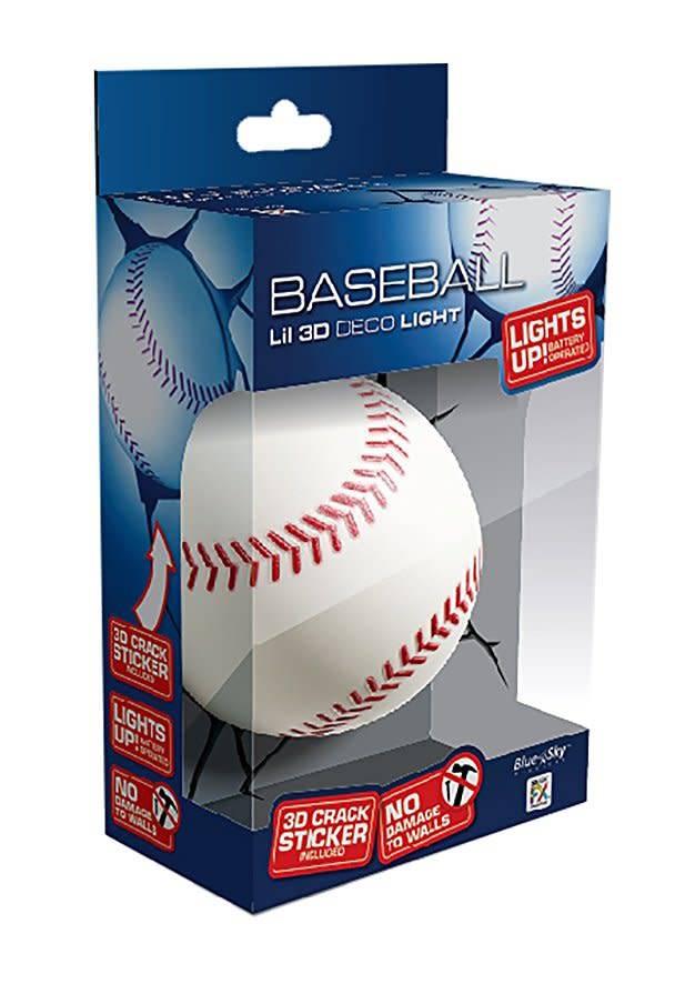 Blue Sky Wireless Deco Light/ Baseball
