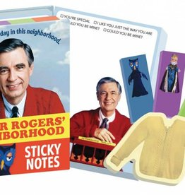 Unemployed Philospher's Guild Sticky Notes/ Mister Rogers