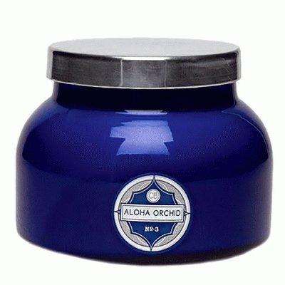 Curio/ Capri Blue Signature Jar Candle/ Blue Aloha Orchid
