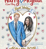Dover Publications Coloring Book / Harry and Meghan
