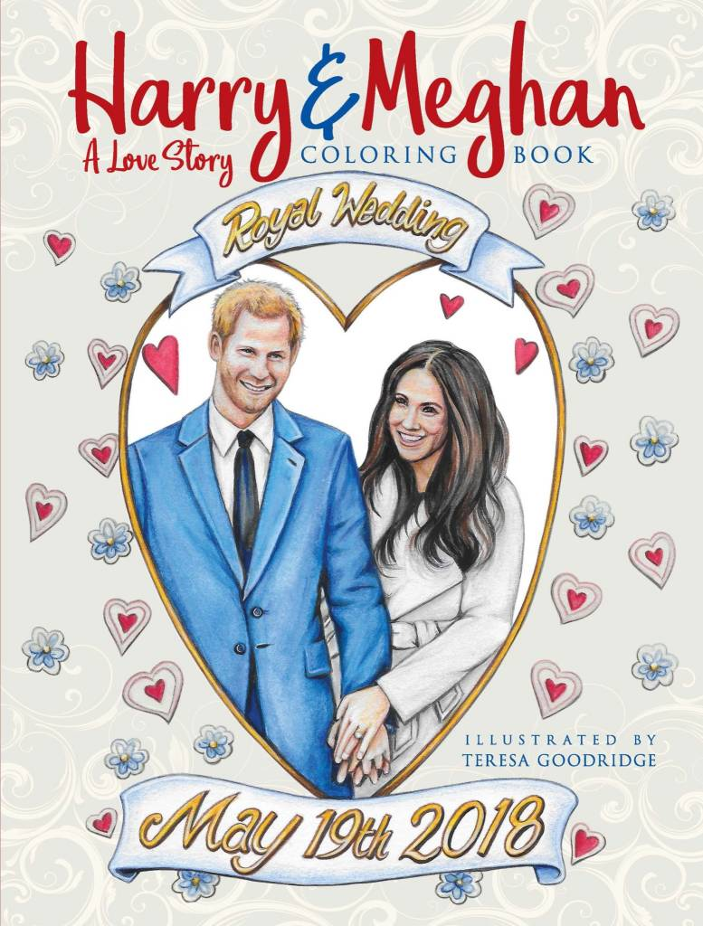 Coloring Book / Harry and Meghan - Sunnyside Cottage