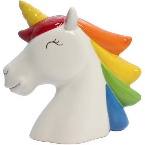 Streamline Inc. Money Bank/ Rainbow Unicorn