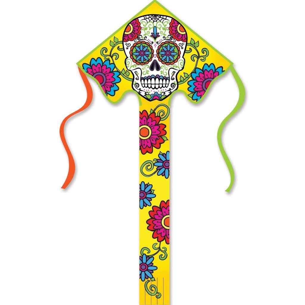 Premier Kites Lg. Easy Flyer Kite/ Sugar Skull