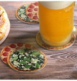 Fred and Friends/ Lifetime Brands Coasters/ Hot & Fresh Pizza