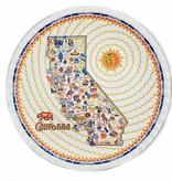 One Hundred 80 Degrees Melamine Plate Set of 4/ California