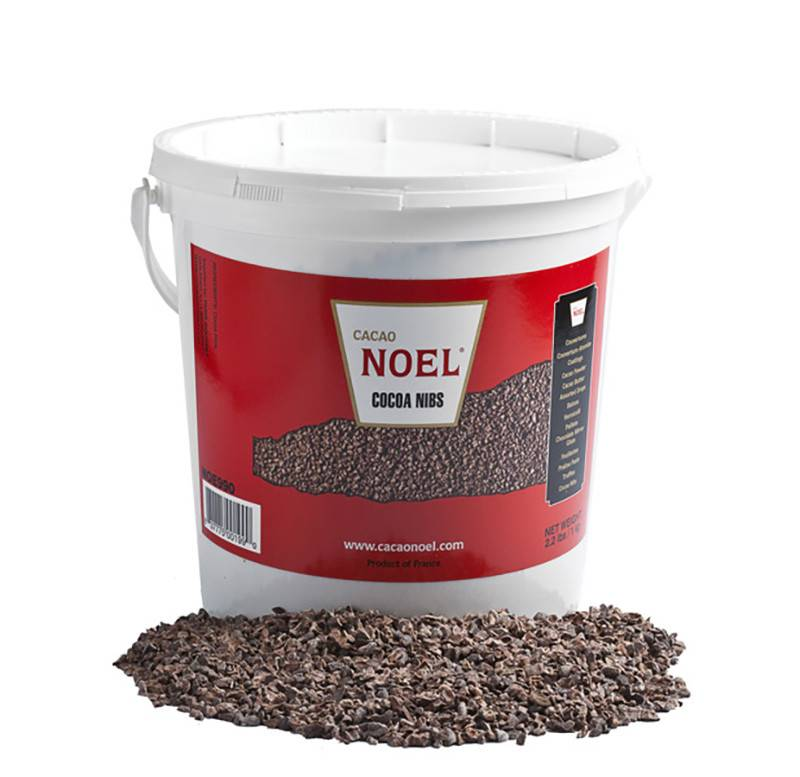 Noe990 Noel Cocoa Nibs Roasted Med 2 4mm 2 2lb The
