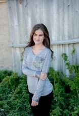 Sequin Pocket Sweater