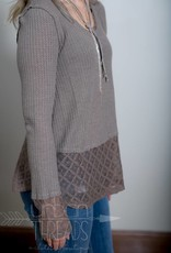 Mocha Lace Thermal