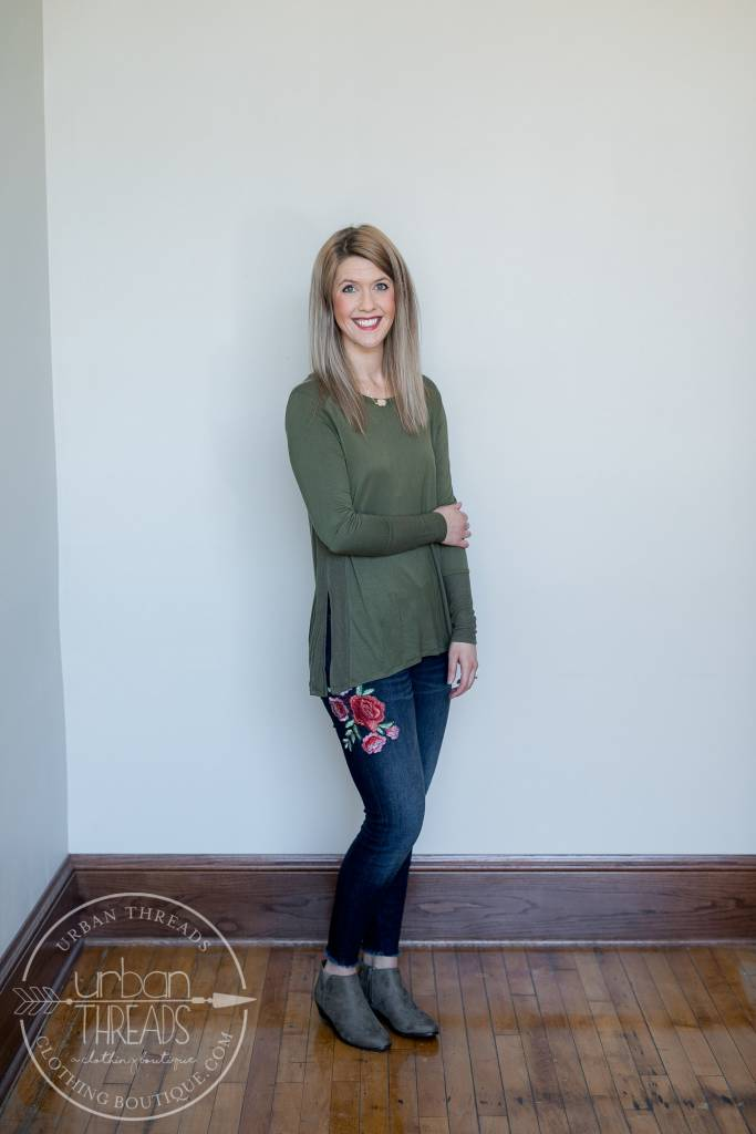 So Soft Olive Top