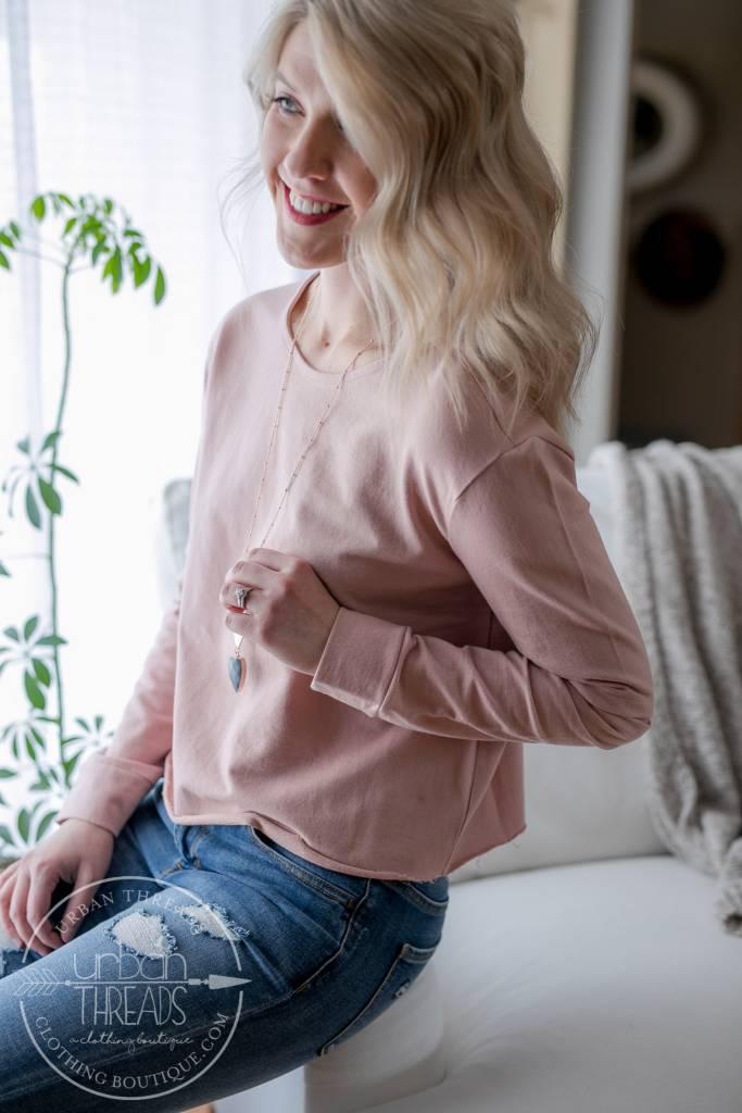 Cameo Rose Sweatshirt