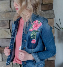 KUT Embroidered Denim Jacket