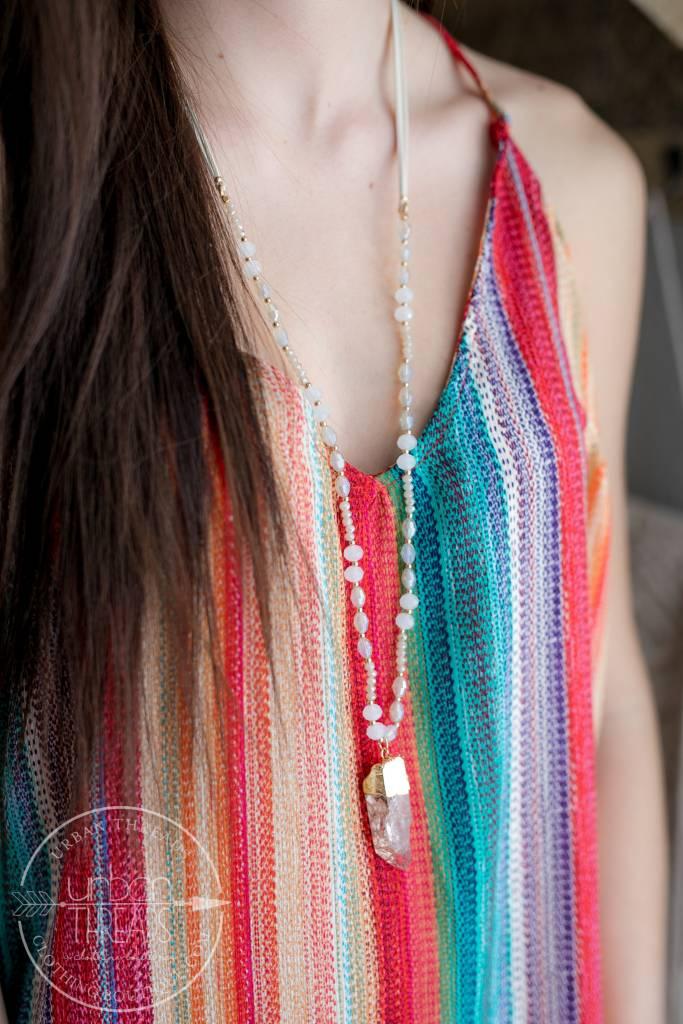 Ivory Beaded Necklace