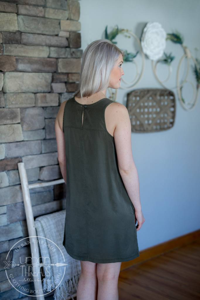 Susan Scoop Neck Dress