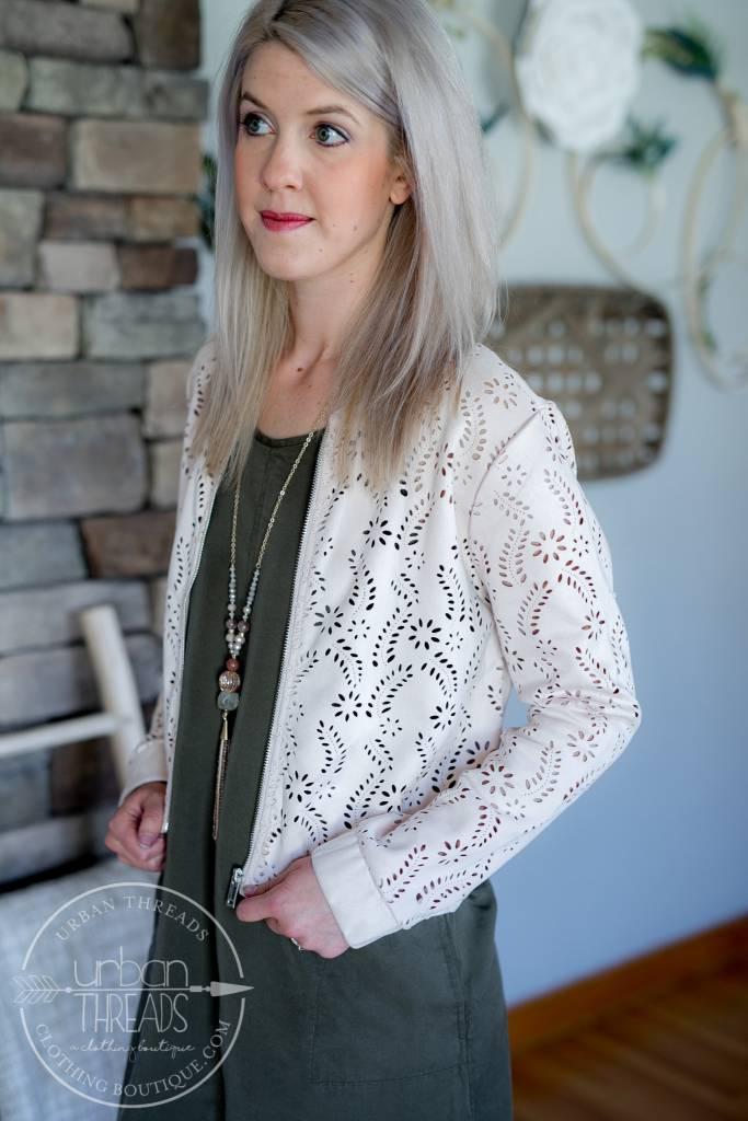 Pale Blush Jacket