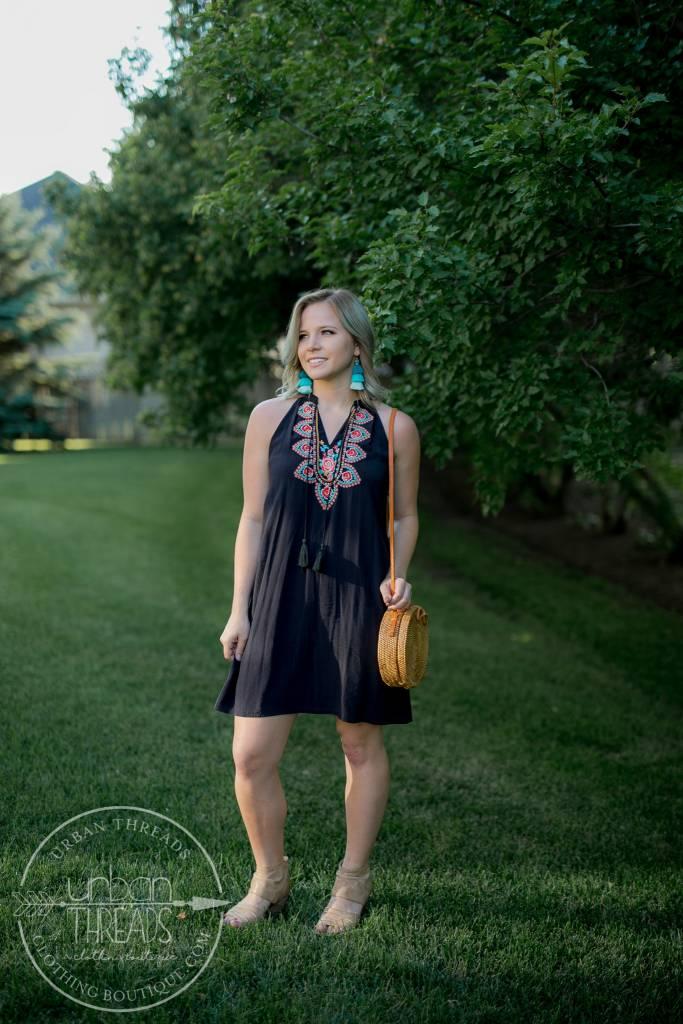 Harper Halter Dress