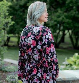 All Flored Kimono Top