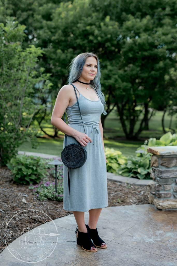 Everyday's Like Sunday Heather Grey Dress