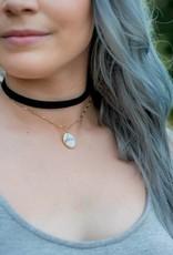 Black/Marble Choker