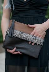 Leopard Hand Held Clutch