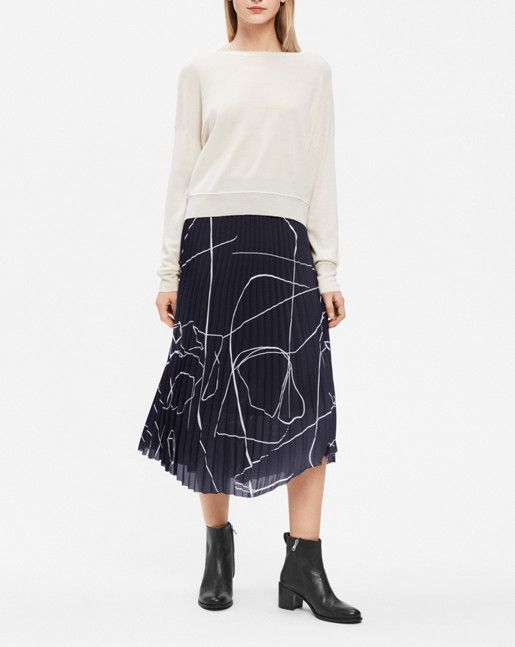 FILIPPA K The Plisse Skirt