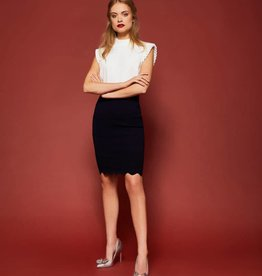 TED BAKER The Scallop Skirt