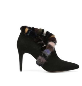 DONALD J. PLINER The Multi-Colour Mink Bootie