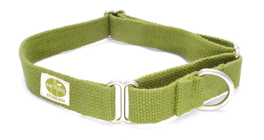 EARTH DOG EARTH DOG LEAF HEMP MARTINGALE COLLAR