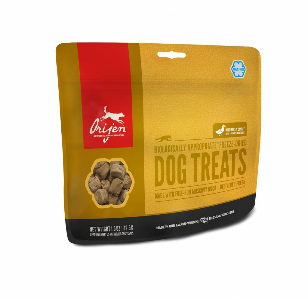 ORIJEN ORIJEN DUCK FREEZE DRIED TREATS