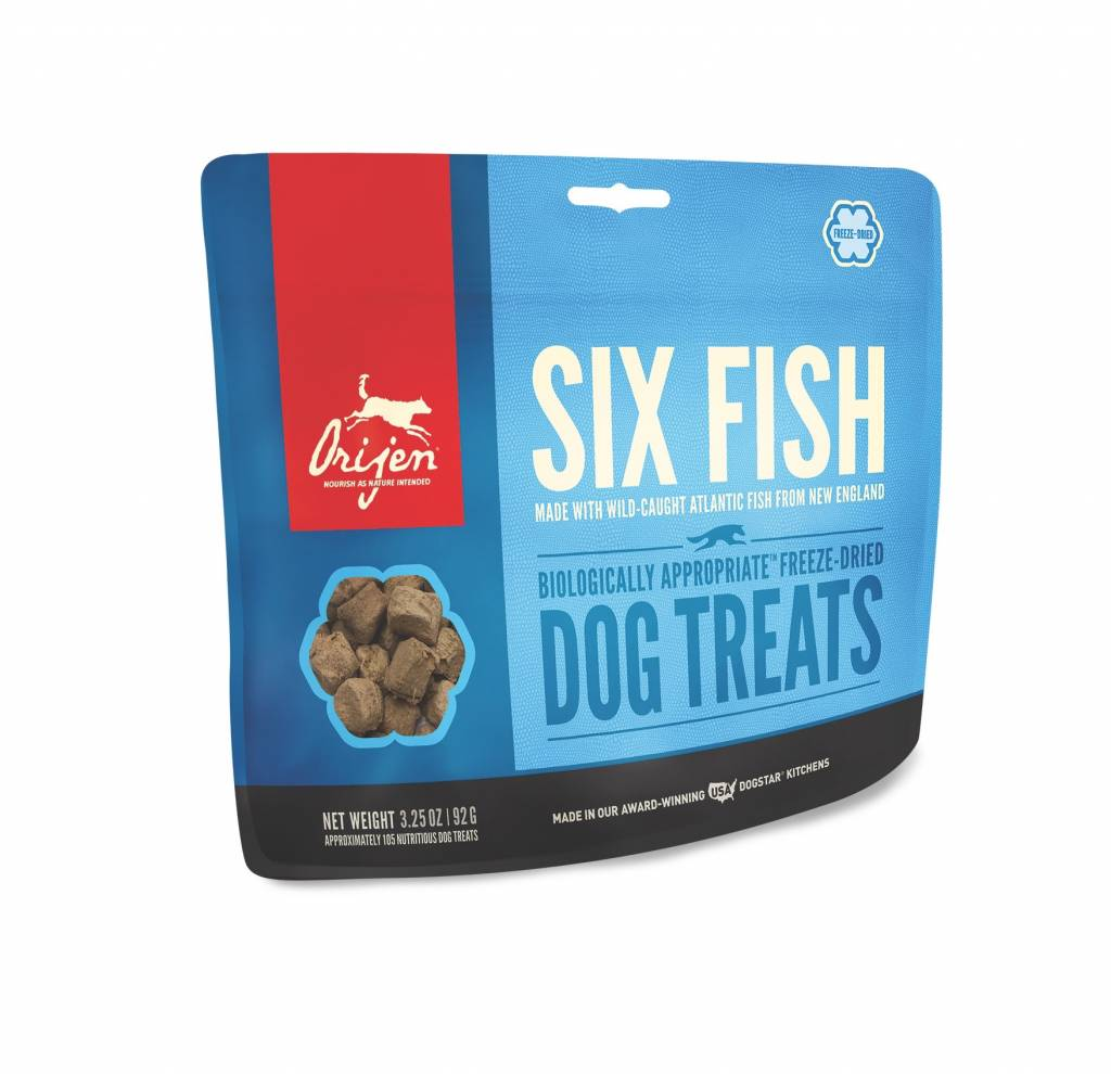 ORIJEN ORIJEN SIX FISH FREEZE DRIED TREATS