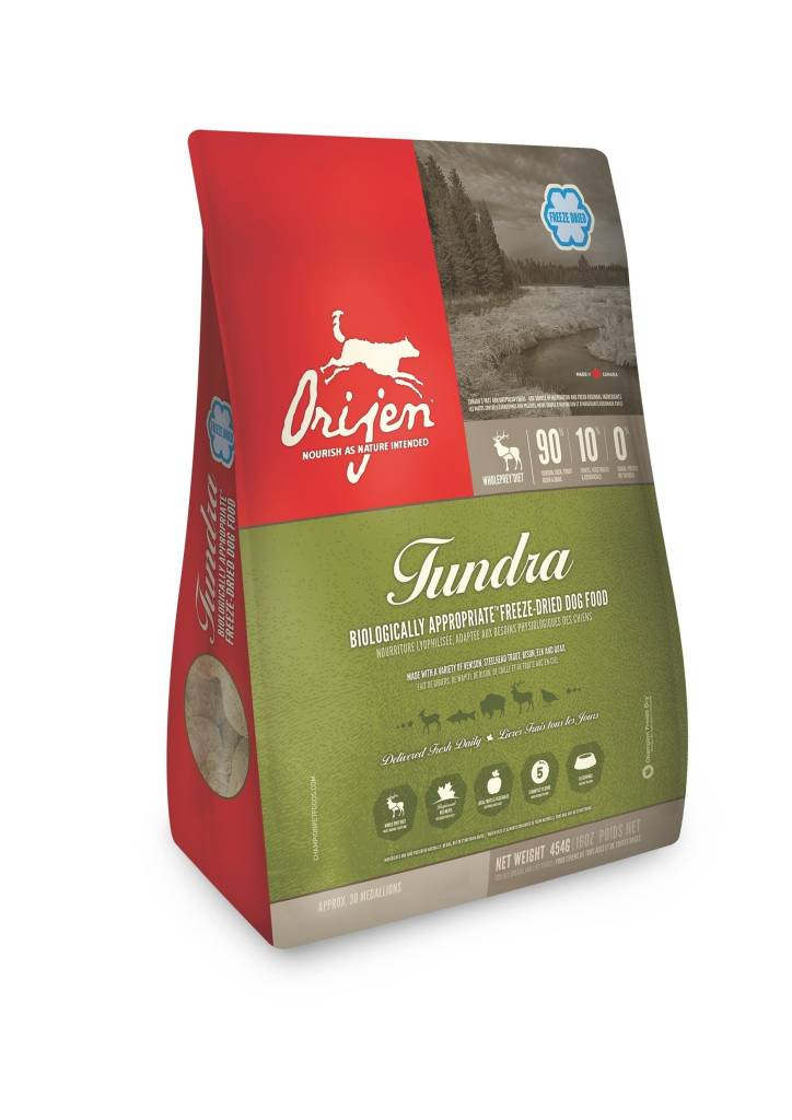 ORIJEN ORIJEN TUNDRA FREEZE DRIED