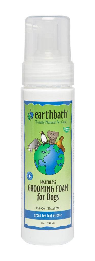 EARTHBATH EARTHBATH GROOMING FOAM GREEN TEA LEAF ESSENCE 8oz