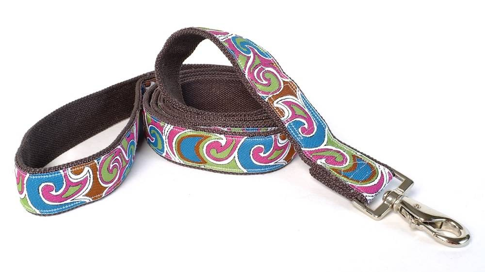 EARTH DOG EARTH DOG FLANAGAN HEMP LEASH 6' x 1""