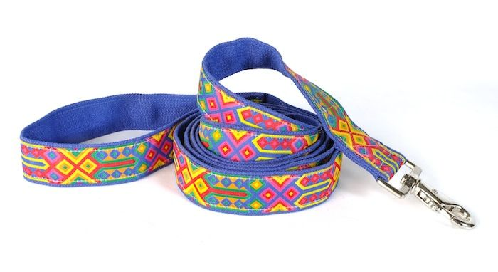 EARTH DOG EARTH DOG SPECK HEMP LEASH 6' x 1""