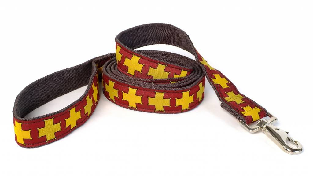 EARTH DOG EARTH DOG WATSON HEMP LEASH 6' x 1""